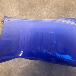Dior gift , cute makeup bag with 3 samples